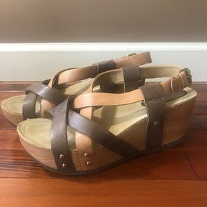 Bussola Fabia Women's sandal sz 9 euro 39 like new